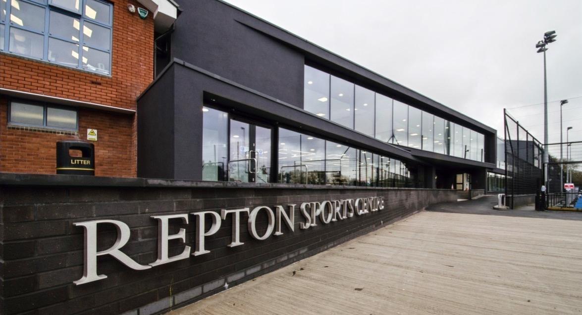 Repton School Sports Facilities Entrance.