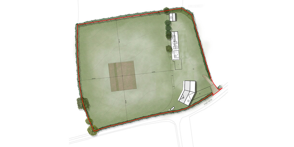 Matthew Montague Architects Brailsford Cricket Club Design