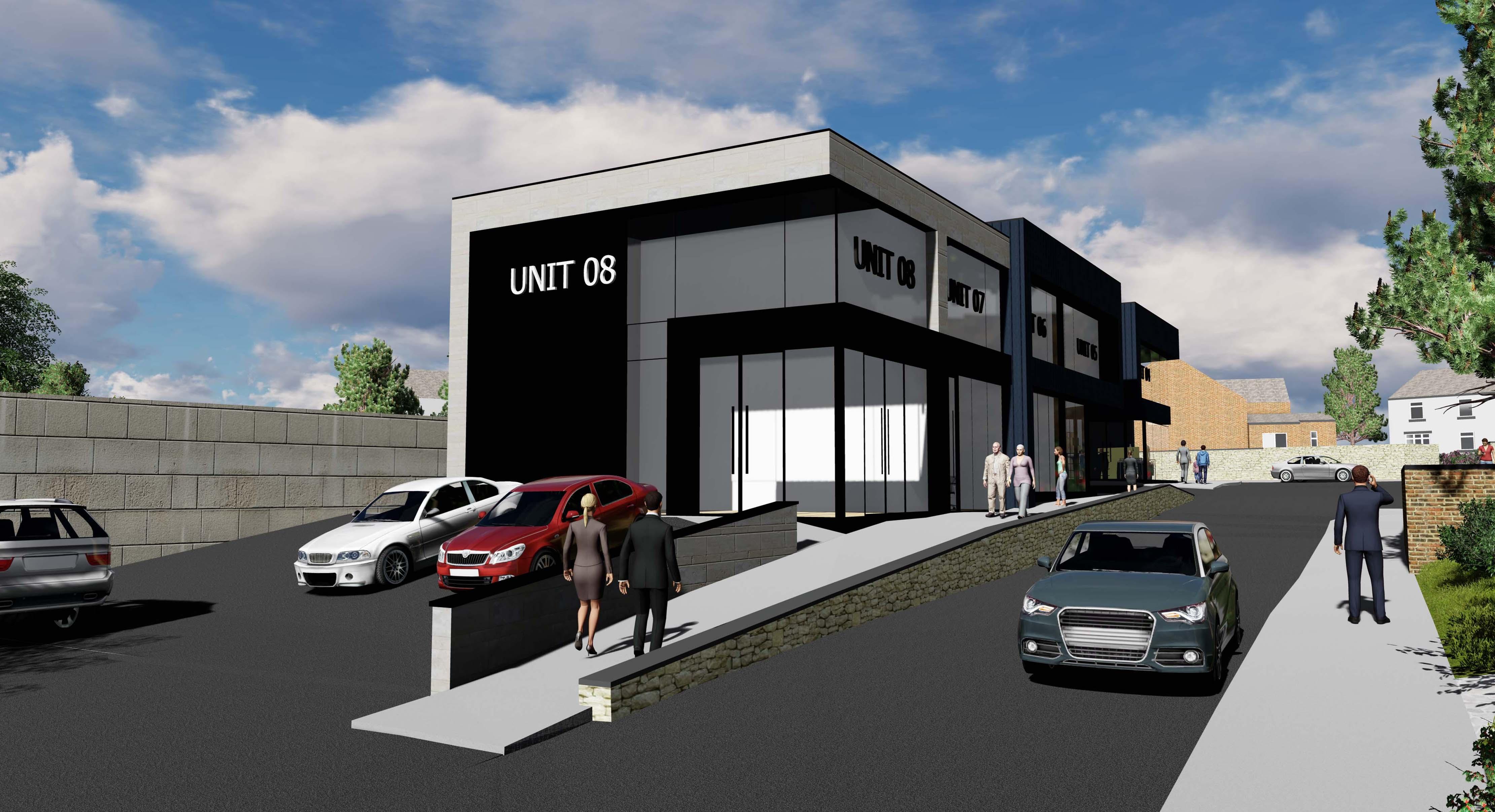 Limes Avenue Retail Park 1
