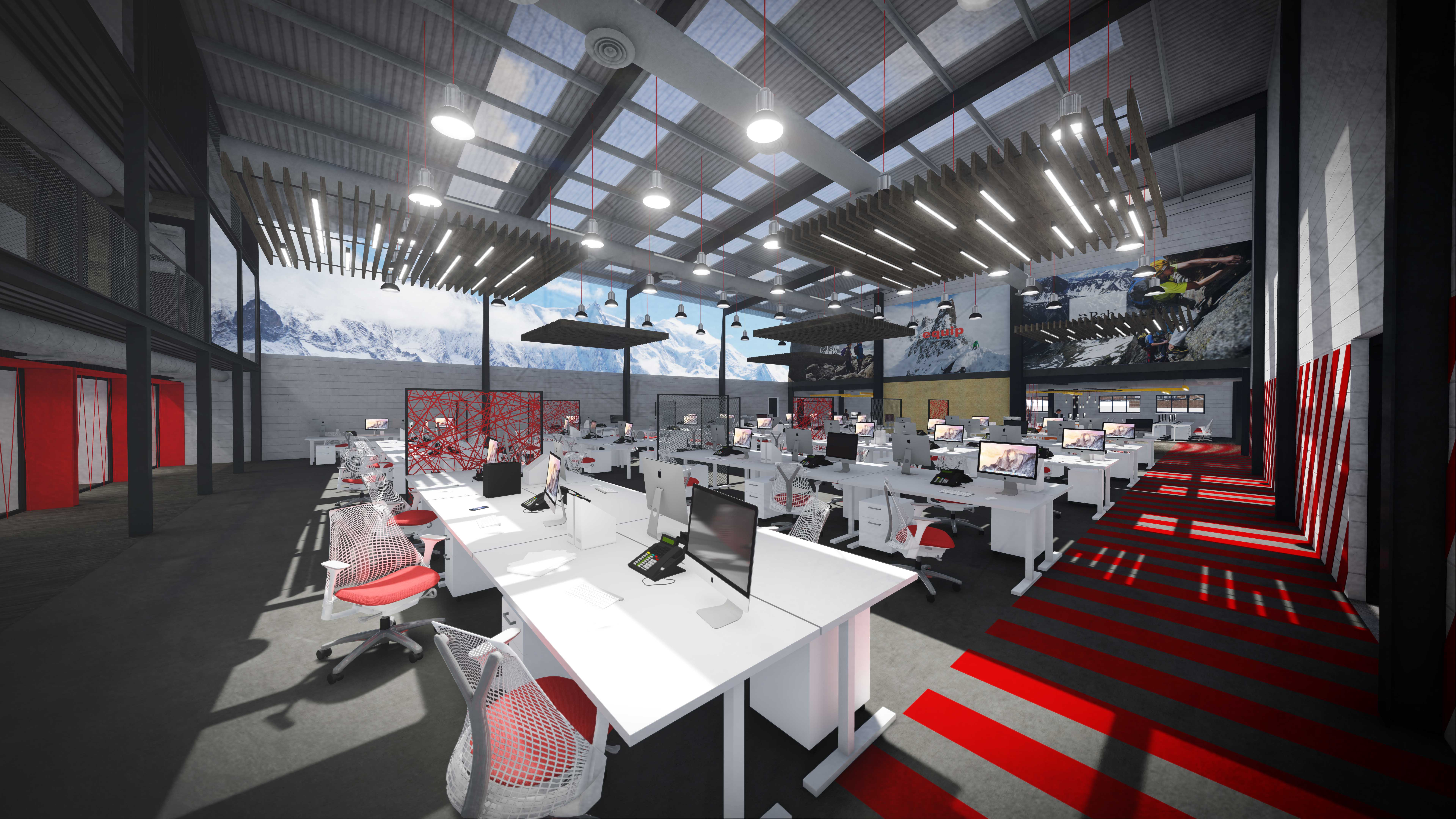 Open plan office 2
