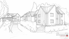 Three Prestigious New Homes, Duffield, Planning Approved.