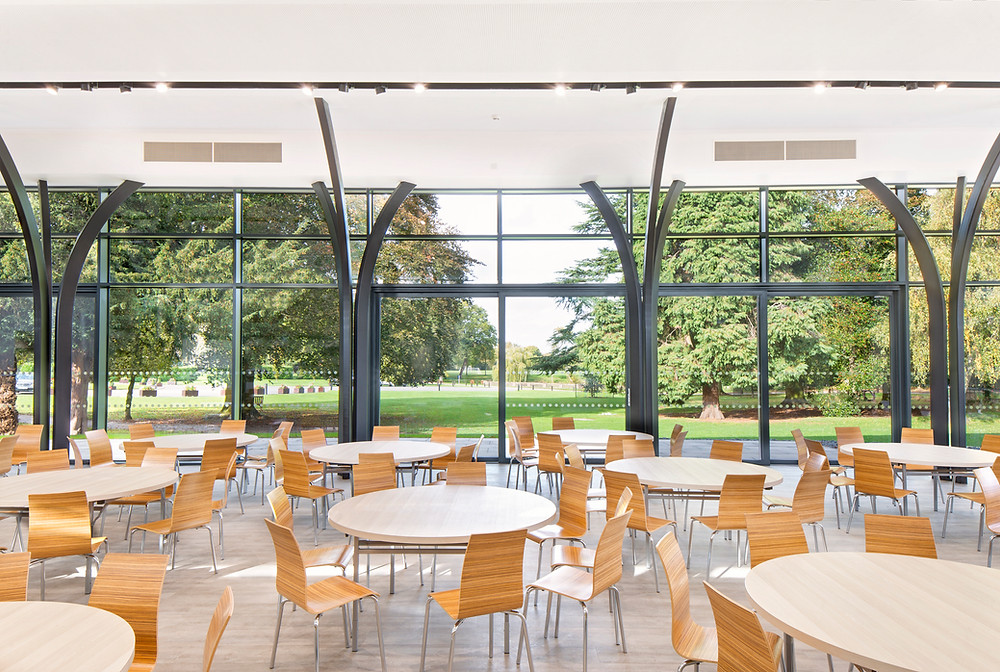 Foremarke Hall Dining Hall Matthew Montague Architects