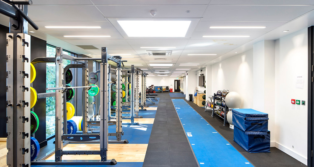 Repton School Strength and Conditioning Suite