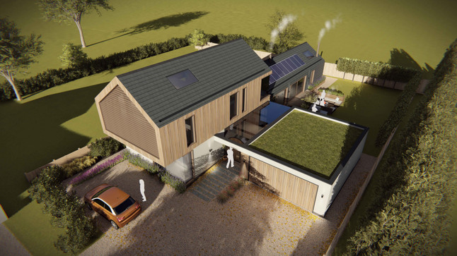 Planning Permission Granted For Contemporary Home In