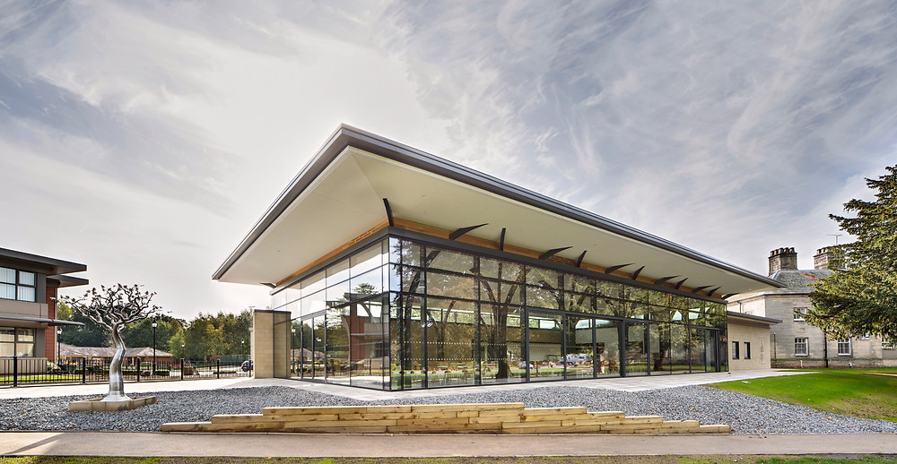 Foremarke Dining Hall by Matthew Montague Architects