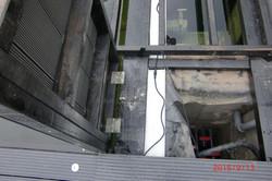 21. Die Abdeckung der Filterkammern
