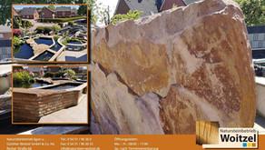 Teichgestaltung mit Natursteinen