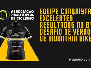 EQUIPE CONQUISTA EXCELENTES RESULTADOS NO 8º DESAFIO DE VERÃO DE MOUNTAIN BIKE.