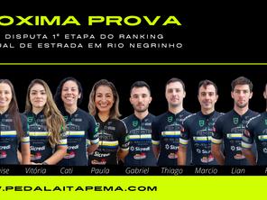 Equipe Disputa 1º Etapa do Ranking Estadual de Estrada em Rio Negrinho
