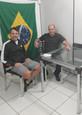 Presidente da Pedala Itapema faz visita à Diretoria de Esportes