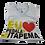 Thumbnail: Camiseta Infantil Eu Amo PedalaR Em Itapema