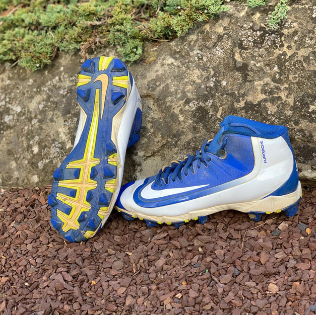 Nike Turf Cleats Blue