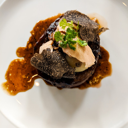 Steak Diane with Sauce on White Plate_Stratford Chef School_Food Photography_Bonjour Tasty