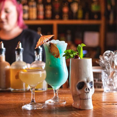 Cocktails on bar_Grand Surf Lounge_Food Photography_Bonjour Tasty by Florence Grunfelder