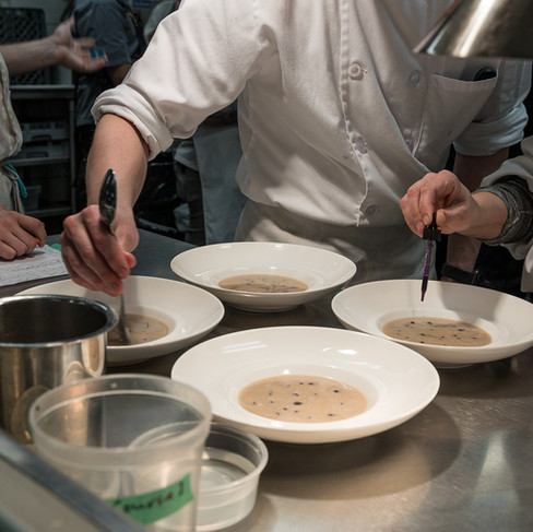 Stratford Chefs School Dinner with Guest Chef Angela Murphy_Restaurant Photography_Bonjour