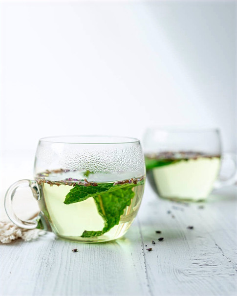 Mint and Lavender Tea _ Food Photography