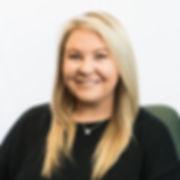 Maranda Robertson, Rec Therapist.  Woman with long blonde hair, smiling.