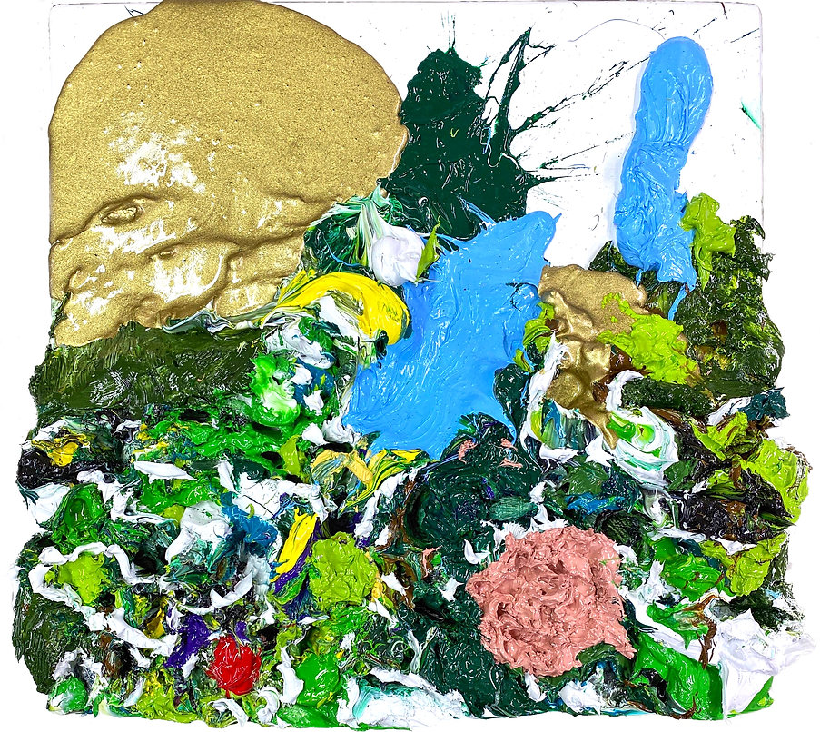A Crumpled Landscape of Painting -small.