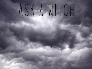 ASK A WITCH- Moving On