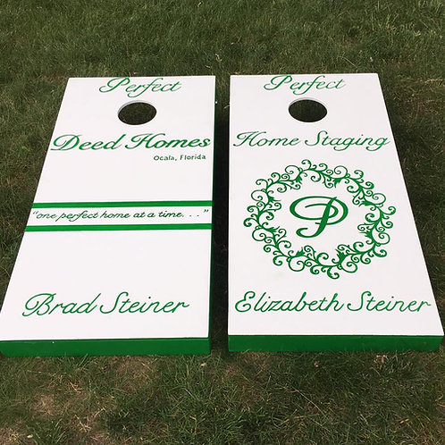 Detailed Custom Cornhole