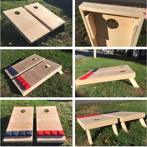 Plain Cornhole Sets