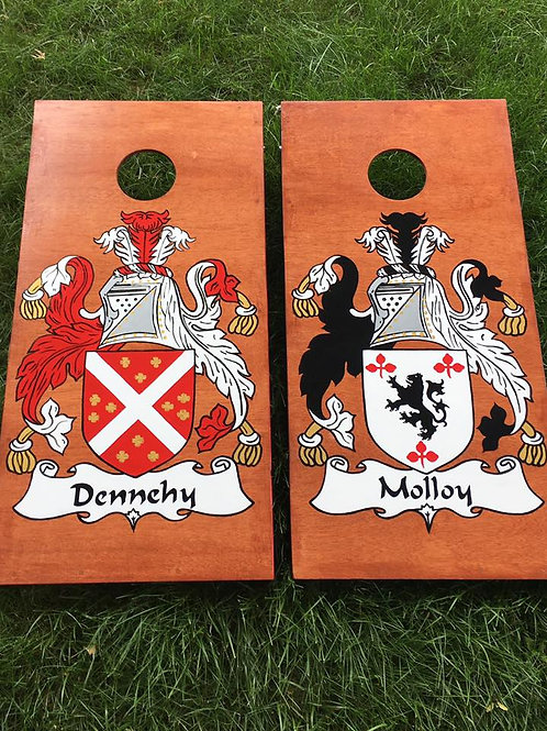 Elaborate Custom Cornhole