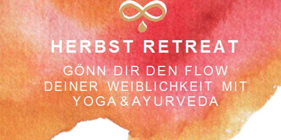 ABGESAGT Herbst Yoga & Ayurveda RETREAT