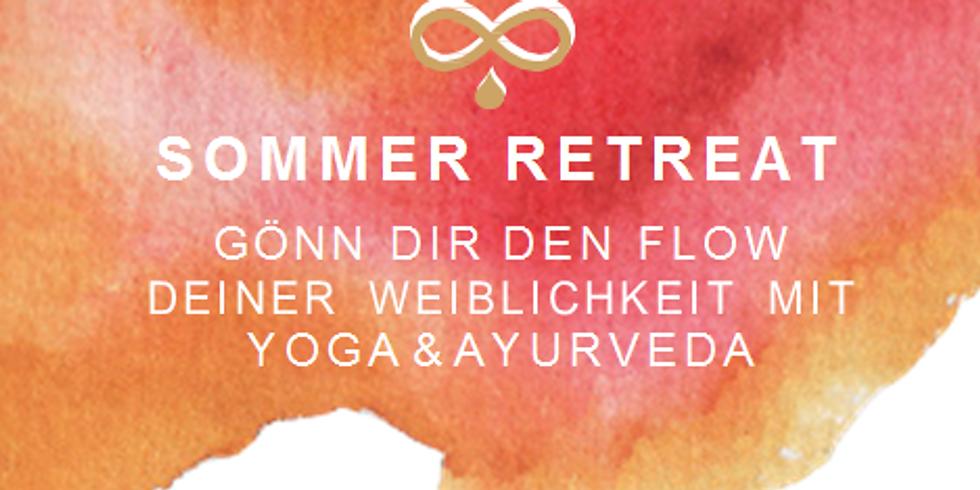 ABGESAGT aufgrund von COVID19 Sommer Yoga & Ayurveda RETREAT