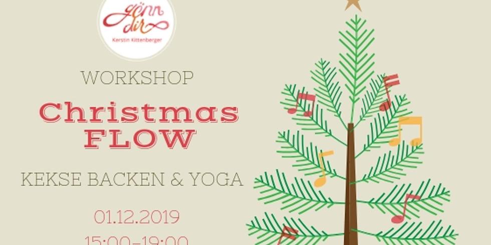 """GÖNN DIR Workshop """"Christmas Flow mit KEKSE BACKEN & YOGA"""""""