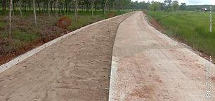 ความคืบหน้าโครงการก่อสร้างถนนคอนกรีตเสริมเหล็ก หมู่ที่ 2 บ้านอีแฮต (สายหน้าเมรุวัดศรีบุญเรืองตำบลคำนาดี เชื่อมต่อตำบลนาสวรรค์)