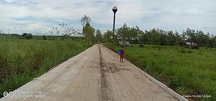 ความคืบหน้าโครงการก่อสร้างถนนคอนกรีตเสริมเหล็ก หมู่ที่ 2 บ้านอีแฮต (สายหน้าวัดศรีบุญเรืองตำบลคำนาดี เชื่อมต่อตำบลหนองหัวช้าง)