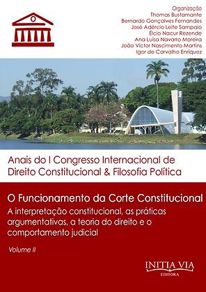 O funcionamento da Corte Constitucional