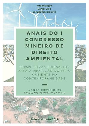 Anais do I Congresso Mineiro de Direito Ambiental
