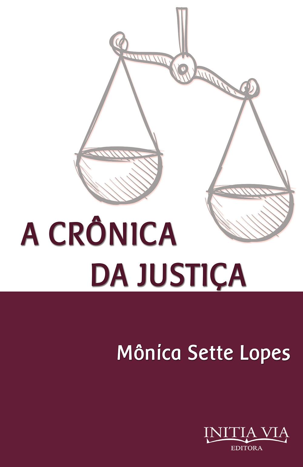Capa do livro A Crônica da Justiça