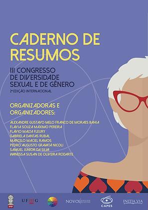 Caderno de Resumos do III Congresso de Diversidade Sexual e de Gênero
