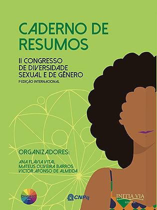 Caderno de Resumos do II Congresso de Diversidade Sexual e de Gênero