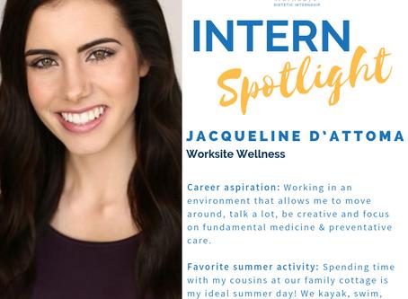 Meet Jacqueline D'Attoma, Wellness Workdays Dietetic Intern