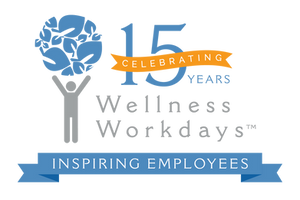 Wellness Workdays 15 Year Anniversary Celebration Logo