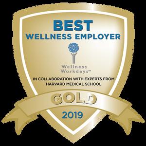 Best Wellness Employer 2019 Gold