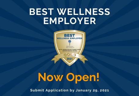 2021 Best Wellness Employer Certification Survey Open for Employers