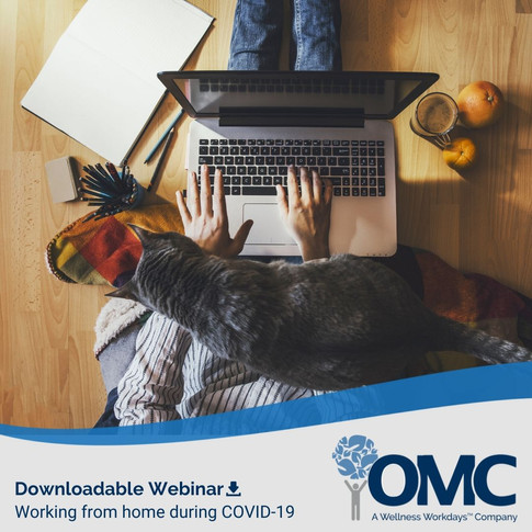 OMC Working from home Downloadable Webinar