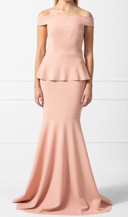 Vestido OMD Crepe Rosé