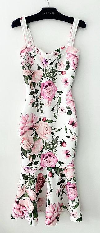 Vestido Midi Floral RS