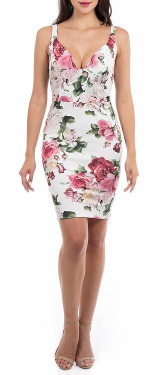 Vestido ZMR Curto Rose