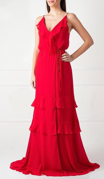 Vestido WRAP Vermelho
