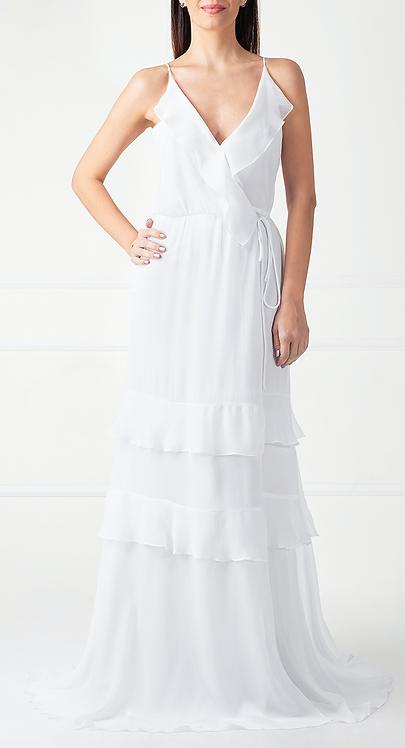 Vestido WRAP Branco