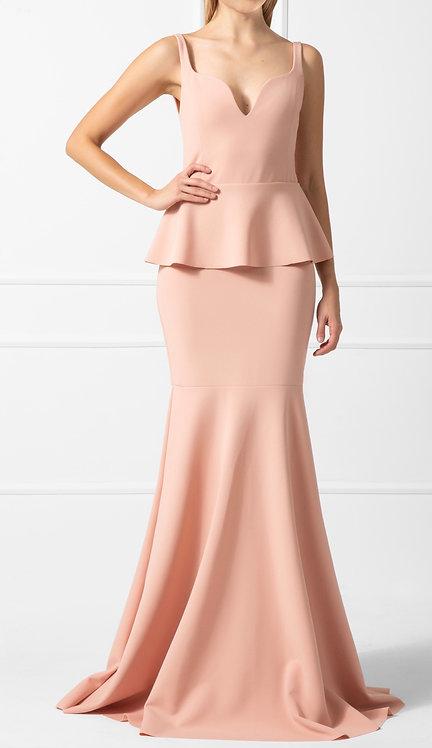 Vestido ZMR Crepe Rosé