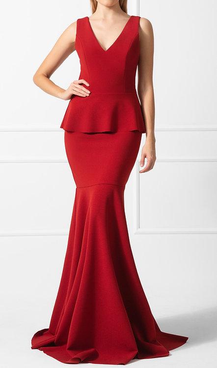 Vestido DCV Crepe Vermelho