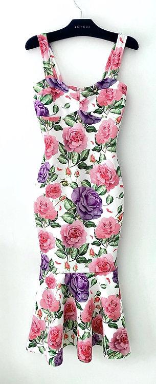 Vestido Midi Floral GD