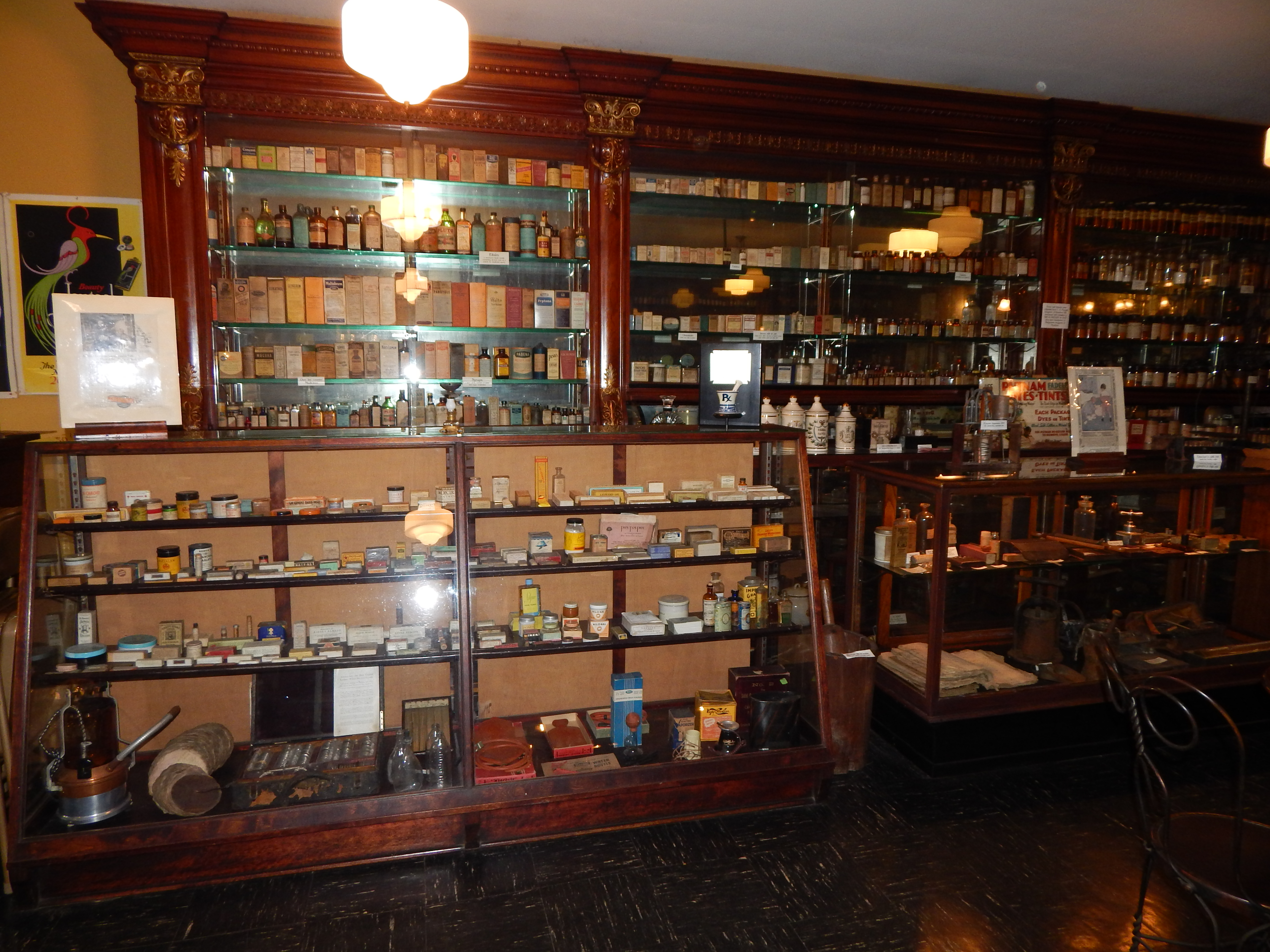 Apothecary Left Wall